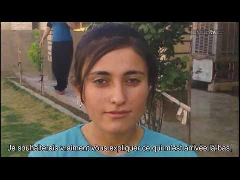 Deux femmes yezidis, Nadia et Lamiya, prix Sakharov 2016. Leur vie