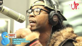2 CHAINZ ON DJCOSMIC KEV COME UP SHOW + FREESTYLE