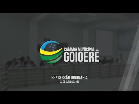 36ª Sessão Ordinária 2018