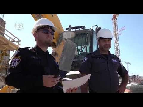 לא רק באזור המאוכלס: המשטרה פשטה על אתרי הבנייה • צפו
