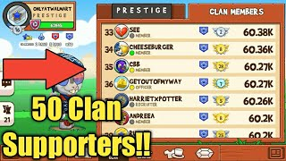 FULL CLAN SUPPORT! Fun Run 3| Best way to level up!