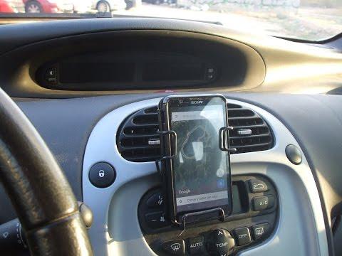 Fabrica tu propio soporte de movil para el coche (Mobile phone support)