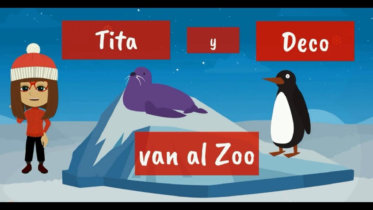 Tita y Deco en el Zoo- Cuento Infantil de Apoyo Audición y Lenguaje - Empatía