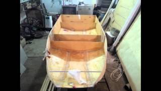 Гребная лодка из фанеры своими руками