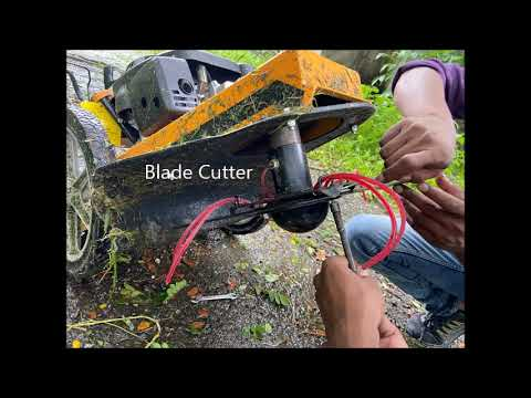 Wheeled Brush Cutter, Wst String Trimmer Mower For Tall Grass Similar To Cubcadet
