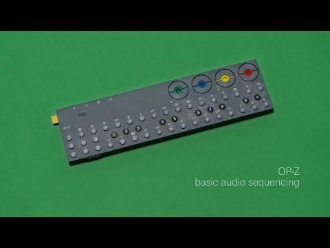 OP-Z basic sequencing