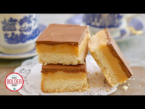 Millionaire's Shortbread Just Like I Grew Up With In Ireland