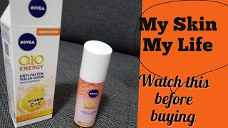 NIVEA Q10 ENERGY ANTI WRINKLE PEARL SERUM VITAMIN C + E||nivea q10 energy anti-falten perlen