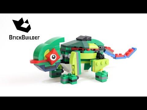 Vidéo LEGO Creator 31031 : Les animaux de la forêt tropicale