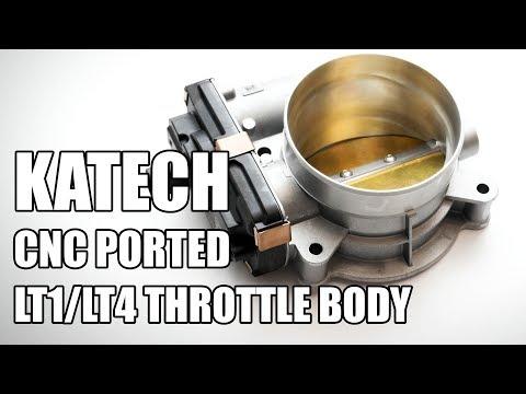 Katech CNC Ported LT1 LT4 L86 Throttle Body