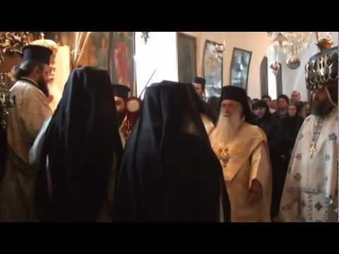 القداس الالهي لغبطة البطريرك ثيوفلس الثالث بمناسبة عايد القديس سمعان الشيخ