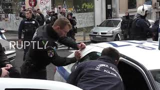 Greece: Dynamo Kyiv fans apprehended by Police ahead of match