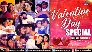 Valentine's Day Special   Best Bollywood Romantic Movie Scenes   Video Jukebox