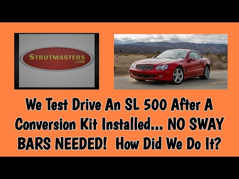 Strutmasters Air Suspension Parts Fixed This 2003 Mercedes SL500