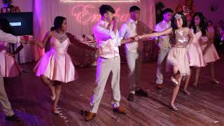 Cumbia Merengue Bachata and Zapateado Quince Dance!!!