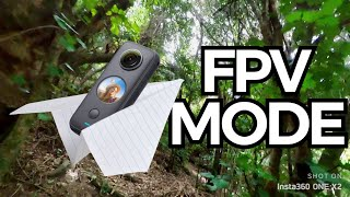 How to use Insta360 One X2 Fpv Mode in a New Zealand Forest!