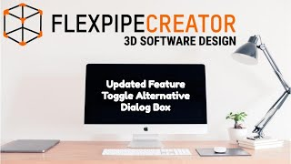 How to use Flexpipe Creator Extension for Sketch Up - Toggle Alternative Icon Update