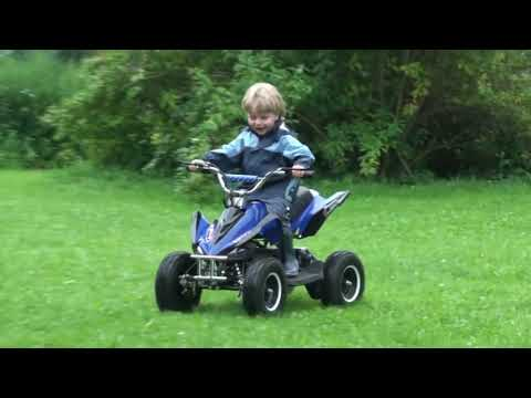 Elektro Miniquad Cobra 800 Watt 800W Kinderquad im Test