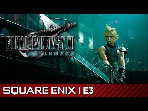 《最終幻想7重製版》遊玩影片來替各位解析戰鬥系統!