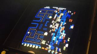 PAC-MAN 35th Anniversary: Billy Mitchell Split Screen 101