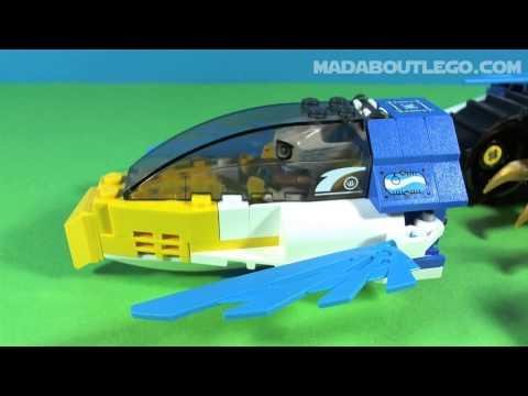 Vidéo LEGO Chima 70013 : L'ultra Striker d'Equila