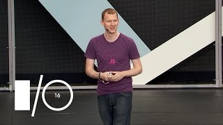 Google I/O 2016 Instant Loading: Building offline-first Progressive Web Apps.