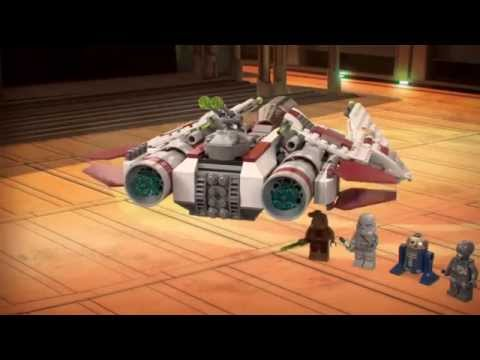 Vidéo LEGO Star Wars 75051 : Jedi Scout Fighter