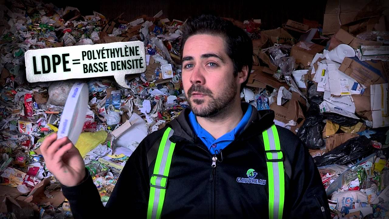 Recycling 101: plastics (in French)