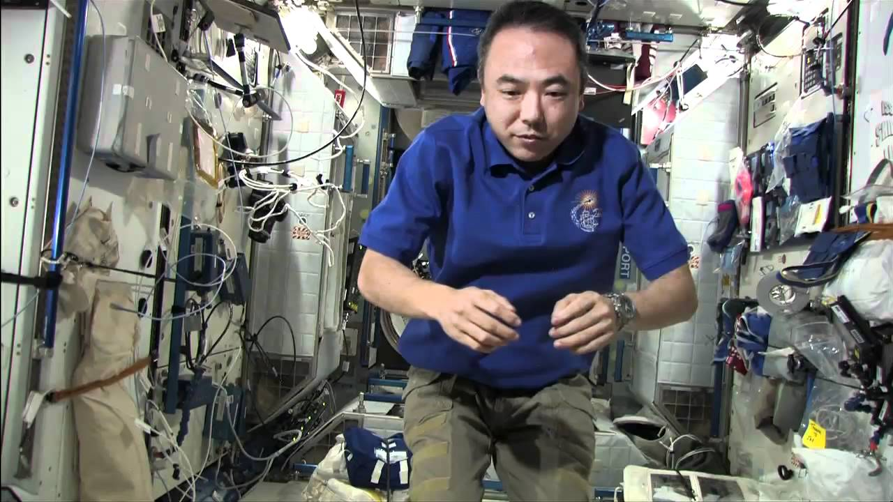 Watch Astronauts Play Around In The ISS