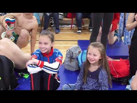Паралимпийский комитет России на московских городских соревнованиях по плаванию «Будущие чемпионы»