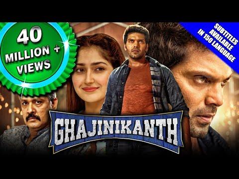 Ghajinikanth (2019) New Released Hindi Dubbed Full Movie | Arya, Sayyeshaa, Sampath Raj, Sathish