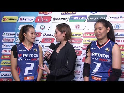 Match MVPs: Bernadeth Pons and Ces Molina | PSL All-Filipino Conference 2018
