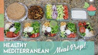 Healthy Mediterranean Meal Prep | Meal Prep Series!