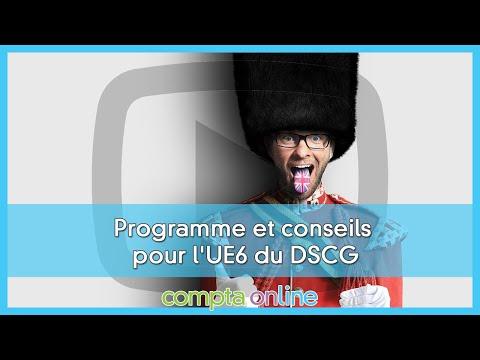 Le programme de DSCG UE6