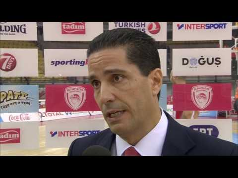Post-game interview: Coach Sfairopoulos, Olympiacos Piraeus