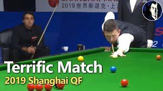 Ronnie O'Sullivan vs Kyren Wilson | Best Frames | 2019 Shanghai Masters QF