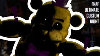 СЕКРЕТЫ и РАЗГАДКИ FNAF Ultimate Custom Night   Секретный Скример Фредбера и многое другое!
