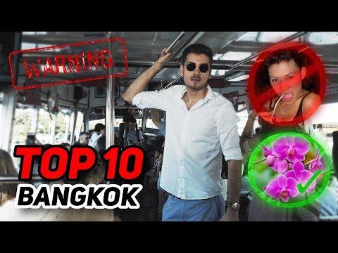 TOP 10 VECÍ ČO MUSÍTE VIDIEŤ V BANGKOKU!