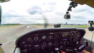 C172 - Leeds Bradford (LBA) To Blackpool | Flight Vlog