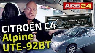 Autoradio im Citroen C4 (Typ L) einbauen | Alpine ersetzt Originalradio | ARS24