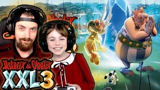 Die SPINNEN doch die RÖMER - Asterix & Obelix XXL 3 Der Kristallhinkelstein Part 1 Gameplay Deutsch