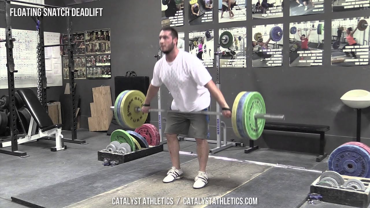 Floating Snatch Deadlift Exercise Library Demo Videos