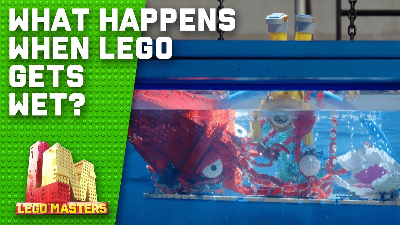 What happens when LEGO is submerged in water? | LEGO Masters Australia 2020