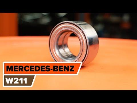 Как заменить передний подшипник ступицы MERCEDES-BENZ (W211) E-Class [ВИДЕОУРОК AUTODOC]