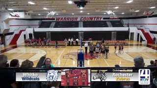 Volleyball Sectional Rochester vs Whitko