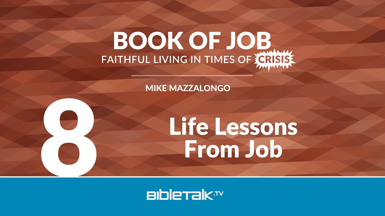 8. Life Lessons from Job
