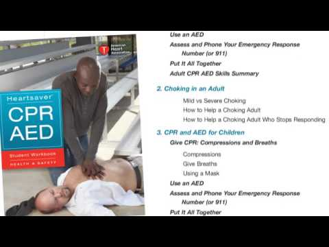 Heartsaver CPR AED Online Part 1 Demo - YouTube