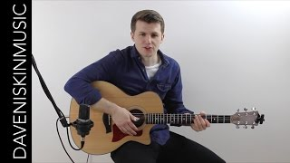 Bare Necessities - Fingerstyle Tutorial / Lesson Extract