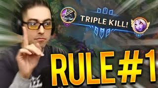 RULE #1: DO NOT COME TOPLANE!!!!   Trick2G