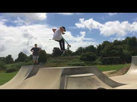 Bourne valley skatepark with Liam Anderson